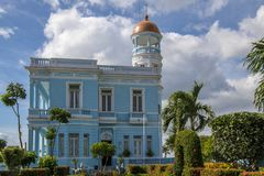 Palacio Azul Hotel, Cuba Stock Photo