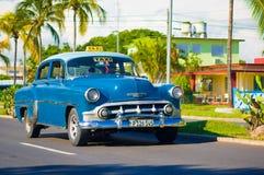 CIENFUEGOS, CUBA - SEPTEMBER 12, 2015: Classic Royalty Free Stock Image