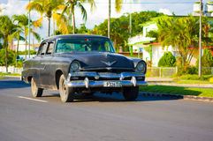CIENFUEGOS, CUBA - SEPTEMBER 12, 2015: Classic Stock Photo