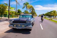 CIENFUEGOS, CUBA - SEPTEMBER 12, 2015: Classic Royalty Free Stock Photos