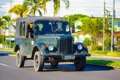 CIENFUEGOS, CUBA - SEPTEMBER 12, 2015: Classic Stock Photography