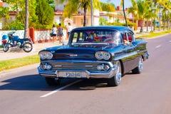 CIENFUEGOS, CUBA - SEPTEMBER 12, 2015: Classic Royalty Free Stock Photo