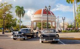 Cienfuegos kolonial stad i Kuba royaltyfria bilder