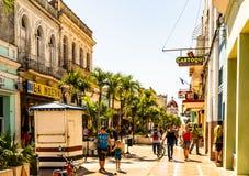 Cienfuegos Kuba - 2019 E Cienfuegos landskap, Kuba royaltyfri foto