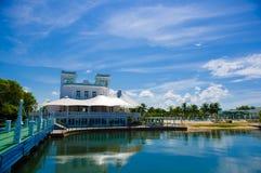 CIENFUEGOS KUBA - SEPTEMBER 12, 2015: Cienfuegos Royaltyfria Foton