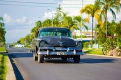 CIENFUEGOS, KUBA - 12. SEPTEMBER 2015: Klassisch Lizenzfreies Stockfoto