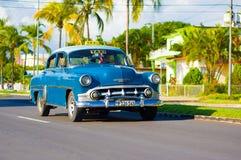 CIENFUEGOS, KUBA - 12. SEPTEMBER 2015: Klassisch Stockbild