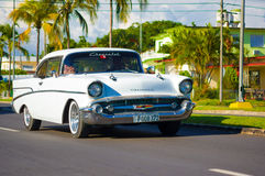 CIENFUEGOS, KUBA - 12. SEPTEMBER 2015: Klassisch Stockbilder