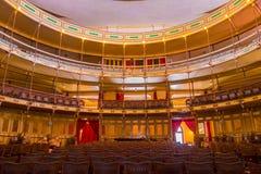 CIENFUEGOS KUBA - SEPTEMBER 12, 2015: Teater Royaltyfria Foton