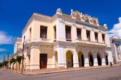 CIENFUEGOS KUBA - SEPTEMBER 12, 2015: Teater Arkivbild