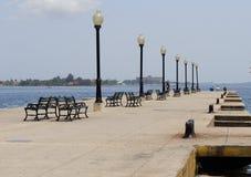 Cienfuegos molo lub jetty Obraz Stock