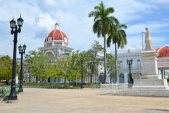 Cienfuegos Parque Jose Marti Royalty Free Stock Photography
