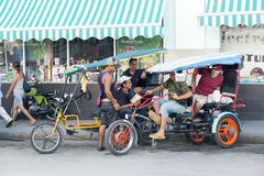 Cienfuegos, pedicab Royalty Free Stock Photos