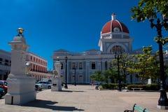 Cienfuegos plaza central square. Cuba Stock Photos