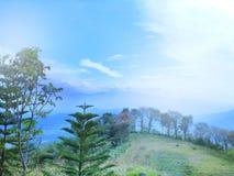 Ciengang wzgórza Fotografia Royalty Free