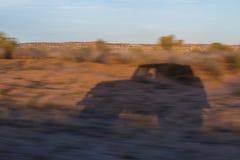 Cienia samochód fotografia stock