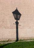 Cienia streetlamp Fotografia Royalty Free