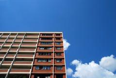 cienki budynki mieszkalne blokowy papier Obrazy Stock