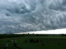 Ścienna chmura Obrazy Stock
