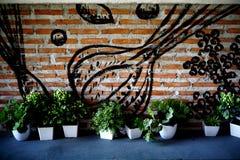 Ścienna dekoracja Zdjęcia Stock