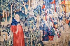 Ścienna dekoracja w Musei Civici agli Eremitani Fotografia Stock