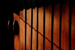 Ścienna drewniana tekstura zdjęcie stock