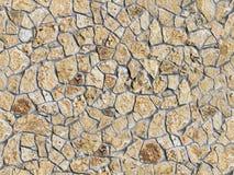 Ścienna kamienna bezszwowa tekstura Zdjęcie Royalty Free
