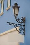 Ścienna latarnia uliczna Fotografia Royalty Free