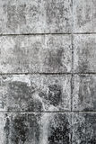 Ściennego sterta ceglanego bielu brudna tekstura obraz royalty free