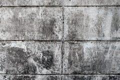 Ściennego sterta ceglanego bielu brudna tekstura fotografia stock