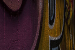 Ścienni graffiti Obraz Royalty Free
