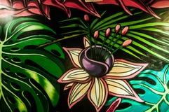 Ścienni sztuka graffiti Zdjęcie Royalty Free