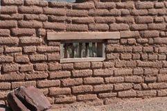 ścienny adobe okno Zdjęcie Royalty Free