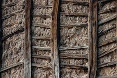ścienny drewniany Obrazy Stock
