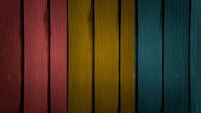 ścienny drewniany Fotografia Stock