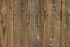 ścienny drewno Fotografia Stock