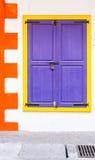 Ścienny drzwiowy kolorowy Zdjęcia Stock