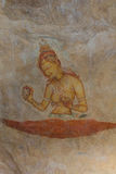 Ścienny obraz Sigiriya kobieta Fotografia Stock