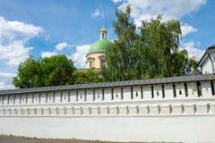 Ścienny St Daniel monaster Zdjęcie Stock