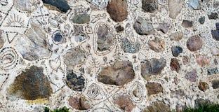 Ścienny wzór kamienie Zdjęcie Royalty Free