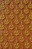 Ścienny wzór w tajlandzkim stylu Zdjęcie Stock