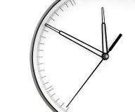 Ścienny Zegar. Obraz Royalty Free