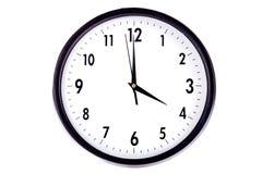Ścienny zegar Fotografia Royalty Free