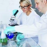 Científico de la química Imágenes de archivo libres de regalías