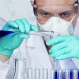 Científico de la química Foto de archivo libre de regalías