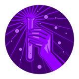 Científico Lab Test Tube Imagen de archivo libre de regalías
