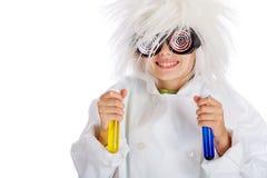 Científico enojado Fotografía de archivo libre de regalías