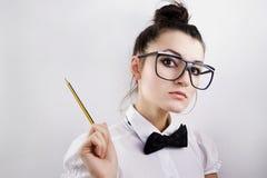 Cientista da mulher Imagens de Stock Royalty Free