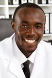 Cientista do americano africano Imagem de Stock Royalty Free
