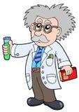 Cientista dos desenhos animados - Fotos de Stock Royalty Free